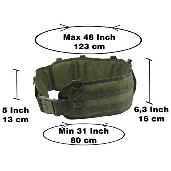 tactic.world Airsoft Tactical Vest 2 MOLLE Modular Tactical Belt molle Vest Chest rig Paintball Airsoft