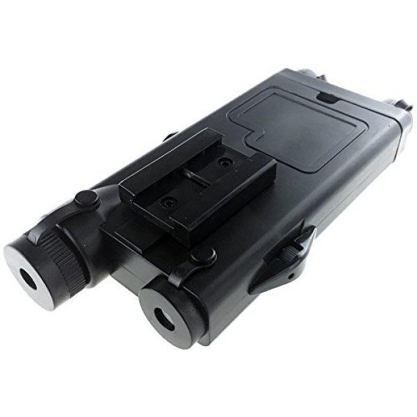 SportPro Airsoft Battery Box 6 SportPro Dboys Polymer PEQ-II Style Dummy Battery Box Type B for AEG Airsoft - Black