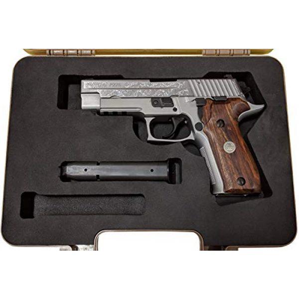 Cedar Mill Fine Firearms Pistol Case 5 Custom EVA Pistol Foam - 1911 Colt Beretta 90 CZ 75 SHADOW 1 and 2 9mm Canik SFX / SA FNH FNS Grand Power Excalibur H&K USP Magnum Research MR9 Ruger American SR11 Smith&Wesson SIG SAUER