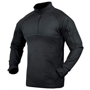 Condor Tactical Shirt 1 Combat Shirt (Black, 2X-Large)