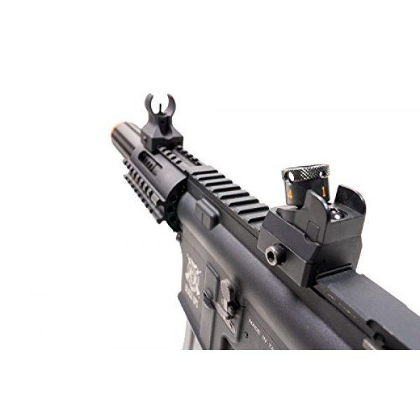 Black Ops Airsoft Rifle 5 Black Ops SR4 CQB AEG Rifle - Electric Fully Automatic Airsoft Gun - .20 .25 BBS