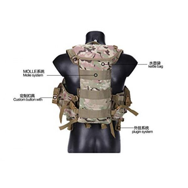 HAOYUN Airsoft Tactical Vest 2 HAOYUN CQB Modular Protective Tactical Vest 97 Seal Water Bag Tactical Vest