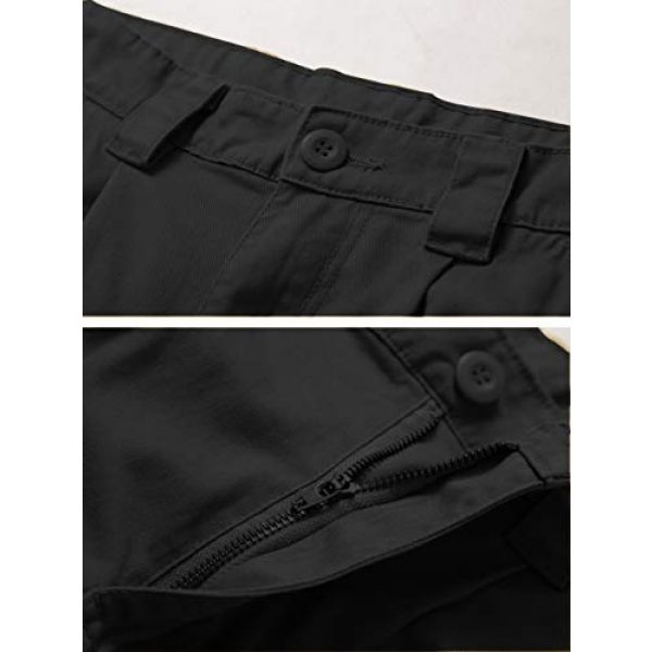 AKARMY Tactical Pant 3 Men's Lightweight Cotton Casual Work Pants,Relaxed Fit Tactical Army Ripstop Cargo Pants with 11 Pockets