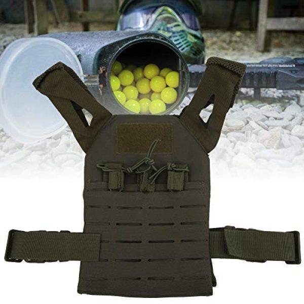 Demeras Airsoft Tactical Vest 3 Demeras Multifunctional Tactics Vest Lightweight Thick Outdoor Vest for Kids