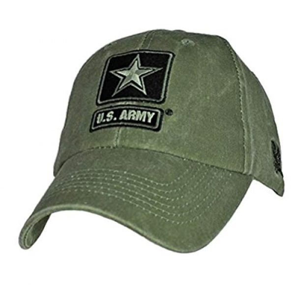 EAGLE CREST Tactical Hat 1 U.S. Army Strong Cap. Green