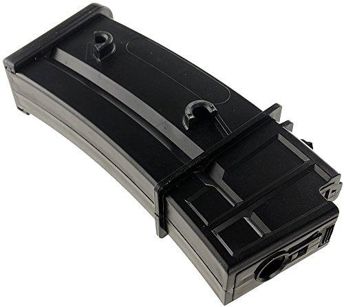 SportPro  6 SportPro Jing Gong 470 Round Polymer High Capacity Magazine for AEG G36 7 Pack Airsoft - Black