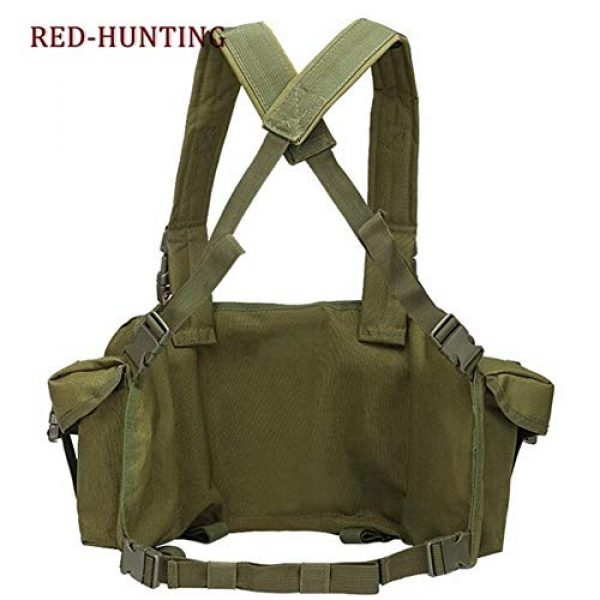 Shefure Airsoft Tactical Vest 4 Shefure New Camouflage Tactical Vest Airsoft Ammo Chest Rig AK 47 Magazine Carrier Combat Military Outdoor Paintball Hunting Vest