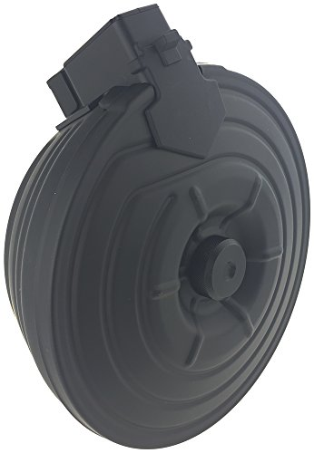 SportPro  4 SportPro CYMA 2500 Round Metal Electric Drum Magazine for AEG AK47 AK74 Airsoft - Black