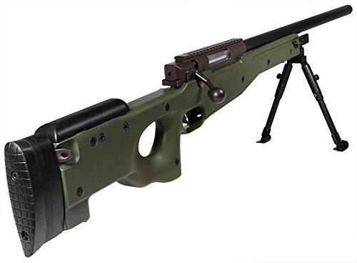 UTG  5 utg type 96 green airsoft sniper w/upgraded spring airsoft gun(Airsoft Gun)