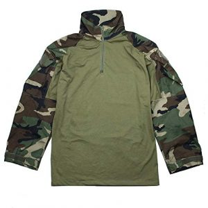 TMC Tactical Shirt 1 TMC ORG Cutting G3 Combat Shirt (Woodland) for Tactical Airsoft Outdoor Game
