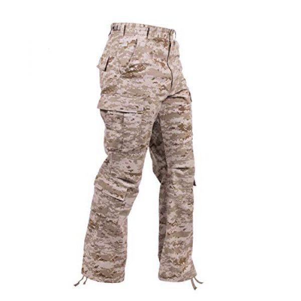 Rothco Tactical Pant 1 Vintage Camo Paratrooper Fatigue Pants, Desert Digital Camo, L