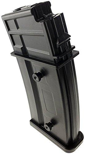 SportPro  4 SportPro Jing Gong 470 Round Polymer High Capacity Magazine for AEG G36 7 Pack Airsoft - Black