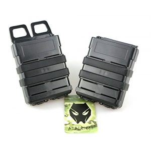 ATAIRSOFT Tactical Pouch 1 ATAIRSOFT Tactical FastMag Molle Pouch Double 5.56 Magazine Holster Bag for AR M4 M16