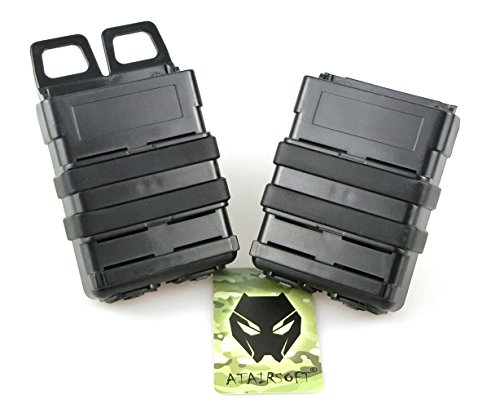 ATAIRSOFT  1 ATAIRSOFT Tactical FastMag Molle Pouch Double 5.56 Magazine Holster Bag for AR M4 M16