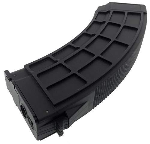 SportPro  7 SportPro 520 Round Polymer Thermold Waffle High Capacity Magazine for AEG AK47 AK74 Airsoft - Black