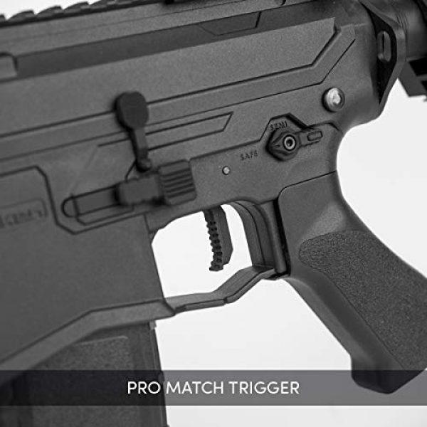 Valken Airsoft Rifle 4 Valken ASL Series M4 Airsoft Rifle AEG 6mm Rifle - MOD-M (Black)
