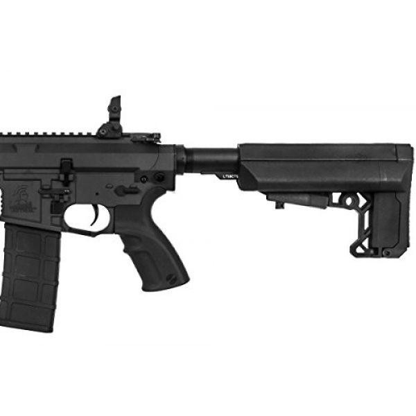 "Lancer Tactical Airsoft Rifle 7 Lancer Tactical M4 Advance Recon Carbine 16"" AEG Airsoft Gun (Black)"
