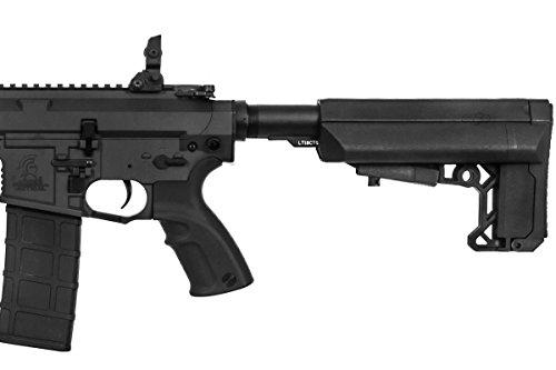 "Lancer Tactical  7 Lancer Tactical M4 Advance Recon Carbine 16"" AEG Airsoft Gun (Black)"