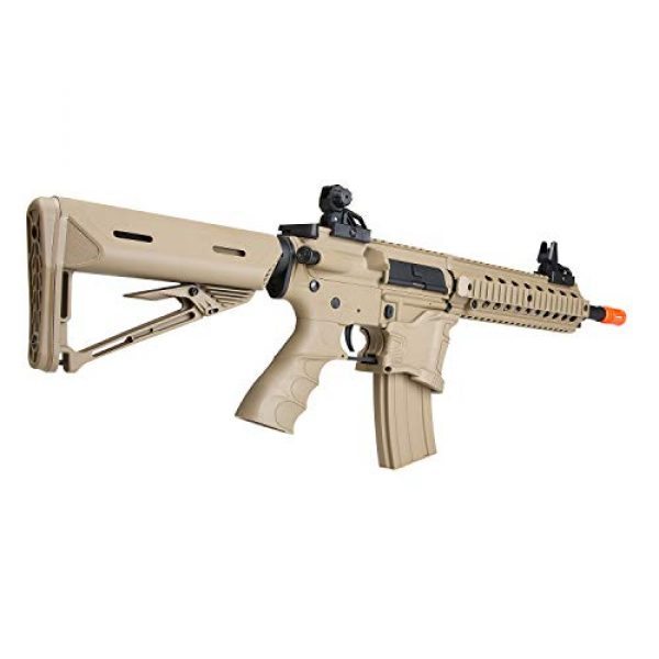 BULLDOG AIRSOFT Airsoft Rifle 5 Bulldog ST Delta QD Airsoft Electric AEG Rifle - Tan