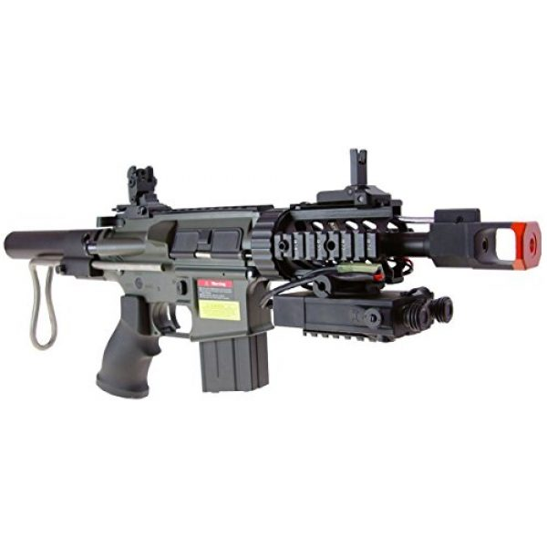 Jing Gong (JG) Airsoft Rifle 3 JG aeg-m4cqb semi/full auto nicads/charger incl.-metal g-box(Airsoft Gun)