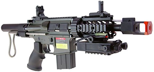 Jing Gong (JG)  3 JG aeg-m4cqb semi/full auto nicads/charger incl.-metal g-box(Airsoft Gun)