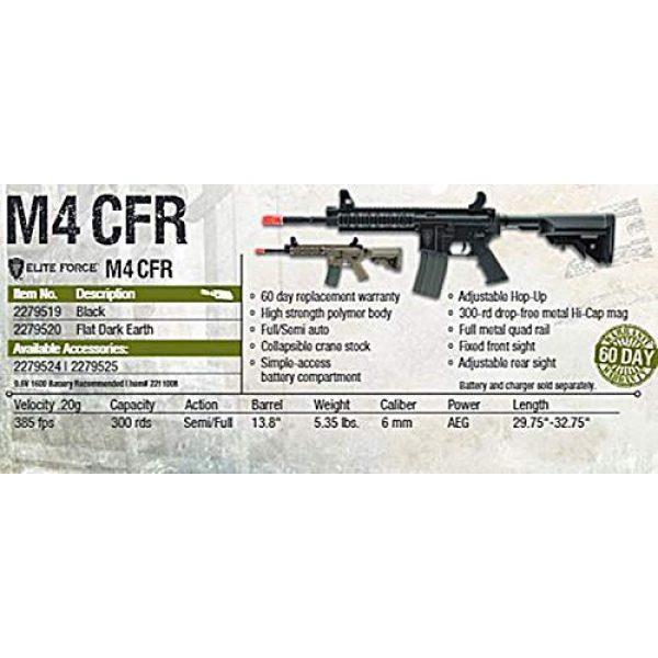 Umarex Airsoft Rifle 5 Elite Force M4 AEG Automatic 6mm BB Rifle Airsoft Gun, CFR, FDE