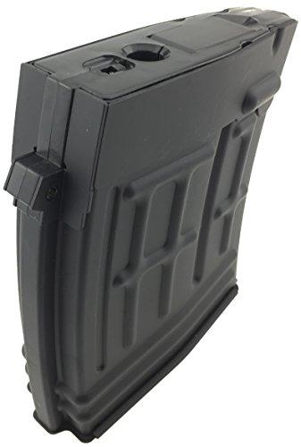 SportPro  5 SportPro CYMA 120 Round Metal High Capacity Magazine for AEG Dragunov SVD 3 Pack Airsoft - Black