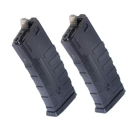 Generica  1 Airsoft Spare Parts CAA 2pcs 360rd Mag Hi-Cap Magazine for ICS D-Boys Tokyo Marui M4 M16 Series M4 M16 Black