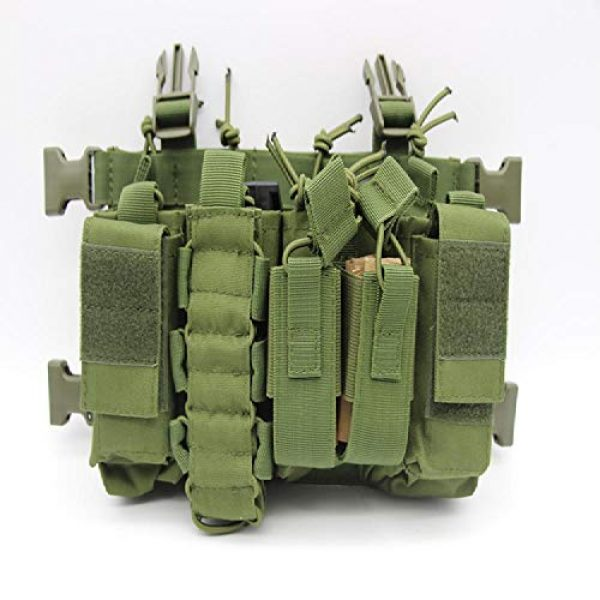 BGJ Airsoft Tactical Vest 4 BGJ Military Equipment Tactical Vest Airsoft Paintball Carrier Strike Chaleco Chest rig Pack Pouch Light Weight Heavy Duty Vest