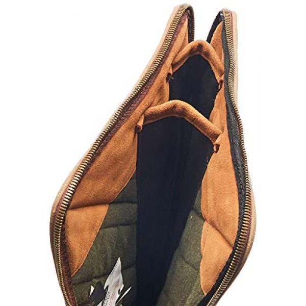 Boyt Harness Pistol Case 3 Boyt Harness Two Barrel Set Tale-Down Case with Pocket