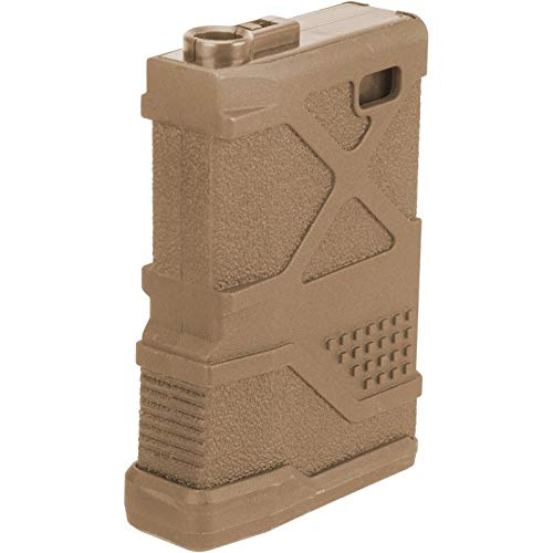 Lancer Tactical  1 Lancer Tactical 70rd HPA Speed Airsoft Magazine for M 4 M 16 Enforcer AEGs Mid Cap TAN
