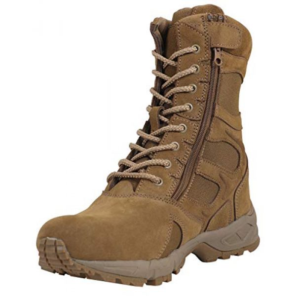 """Rothco Combat Boot 1 Forced Entry 8"""" Deployment Boots with Side Zipper"""
