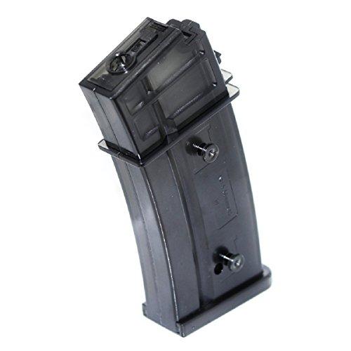 Airsoft Shopping Mall  1 Airsoft Shooting Gear 470rd Mag Hi-Cap Magazine For Jing Gong (JG) G36 Series AEG Black