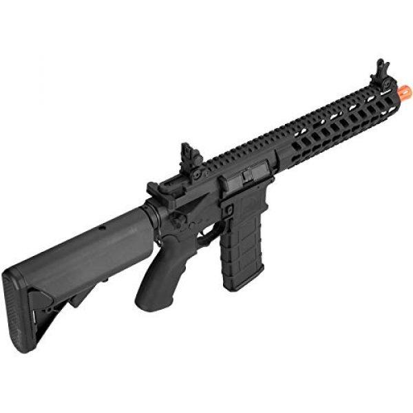 "Lancer Tactical Airsoft Rifle 6 Lancer Tactical 10.5"" Rapid Deployment Carbine M4 RDC Airsoft AEG Rifle Low Speed Black"