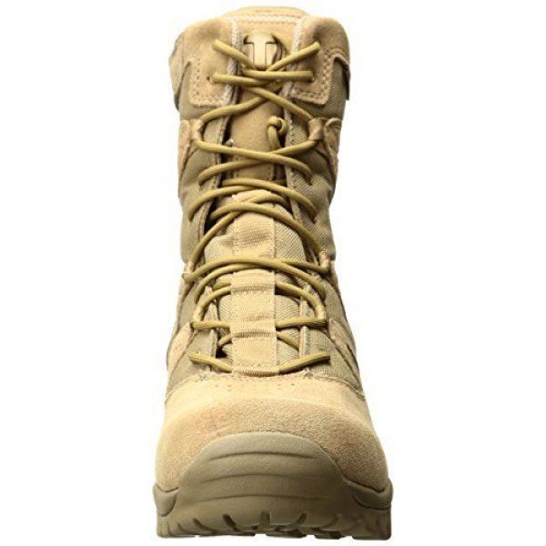 BLACKHAWK Combat Boot 2 BLACKHAWK 83BT19DE-140W Ultralight Side Zip Boot, Wide/Size 14, Desert Tan