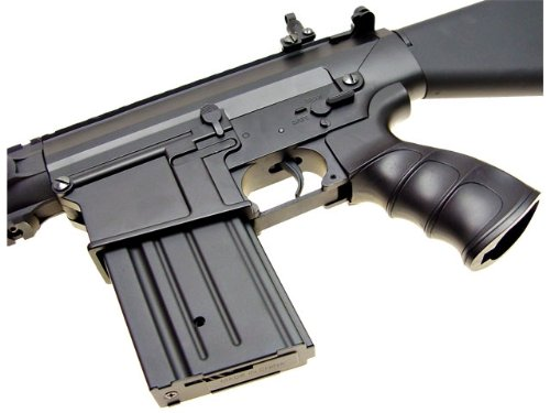 Jing Gong (JG)  4 JG sr 25 full metal aeg airsoft rifle(Airsoft Gun)