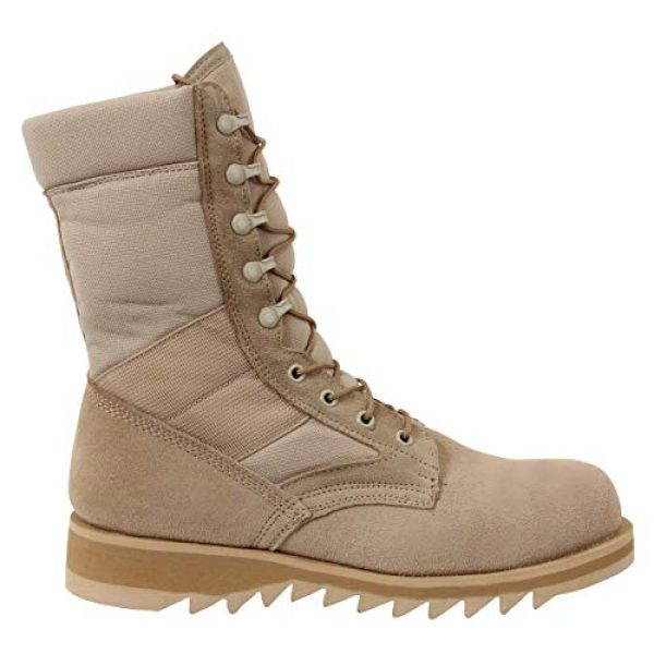 Rothco Combat Boot 2 G.I. Type Ripple Sole Desert Tan Jungle Boots