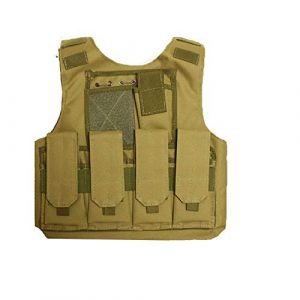 Sunny  1 Sunny Outdoor Camouflage Combat Assault Waistcoat Tactical Molle Child Vest