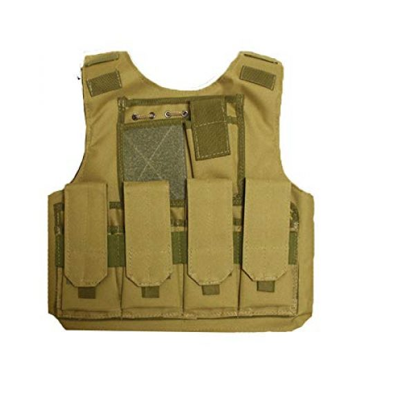 Sunny Airsoft Tactical Vest 1 Sunny Outdoor Camouflage Combat Assault Waistcoat Tactical Molle Child Vest