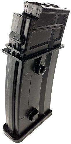 SportPro  5 SportPro Jing Gong 470 Round Polymer High Capacity Magazine for AEG G36 7 Pack Airsoft - Black