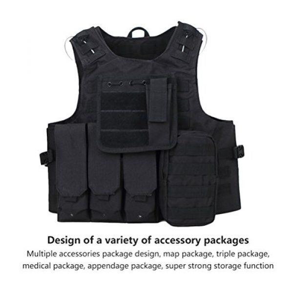 Zhuhaitf Airsoft Tactical Vest 5 Zhuhaitf Hunting Tactical Airsoft Oxford Molle Vest Tactical Gear Adjustable Vest