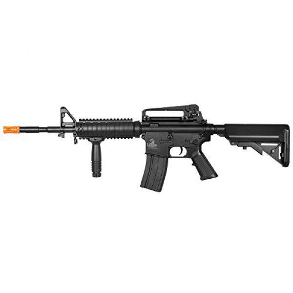 Lancer Tactical Airsoft Rifle 3 Lancer Tactical LT-04B SOPMOD M4 AEG Metal Gear (Black LT-04B)