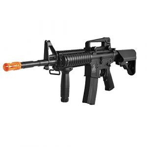 Lancer Tactical Airsoft Rifle 1 Lancer Tactical LT-04B SOPMOD M4 AEG Metal Gear (Black LT-04B)