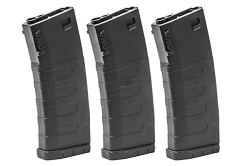 KWA  1 KWA K400 ERG 400 rd. AEG High Capacity Magazine - 3 Pack (Black)