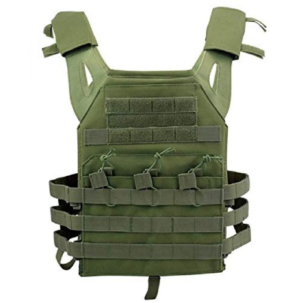BGJ Airsoft Tactical Vest 1 BGJ Tactical JPC Vest Molle Plate Carrier Military Vest Airsoft Paintball CS Game Hunting Outdoor Protective Equipment