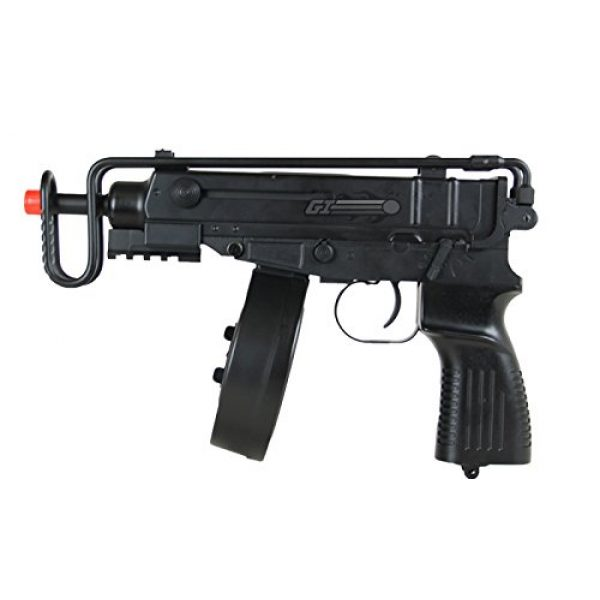 Well Airsoft Rifle 4 Well R2 Skorpion AEP Airsoft SMG (Black)
