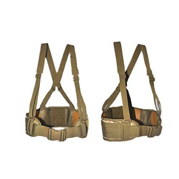 HWZ Airsoft Tactical Vest 1 HWZ Molle Portable Girdle Tactical Belt Nylon Outdoor Multifunctional Tactical Belt Vest