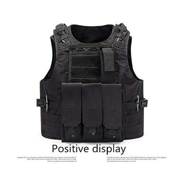 NEW VIEW Airsoft Tactical Vest 3 NEW VIEW Tactical Vests Amphibious Combat Vest