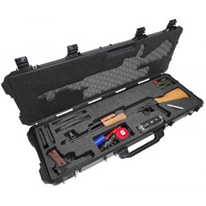 Case Club Rifle Case 1 Case Club AK-47 Pre-Cut Waterproof Rifle Case with Accessory Box and Silica Gel to Help Prevent Gun Rust (Gen 2)