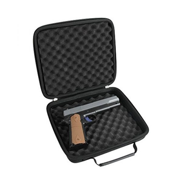 Hermitshell Pistol Case 1 Hermitshell case fits Pistol Case Up to 8.5-Inch Revolver Barrel